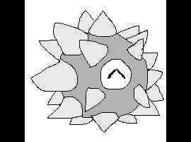 Spikeballclock