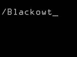 Blackowt