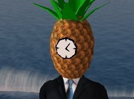 PineappleClock