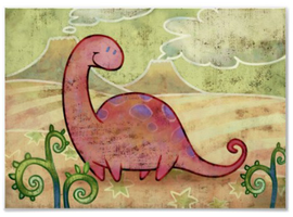Purple-Brontosaurus