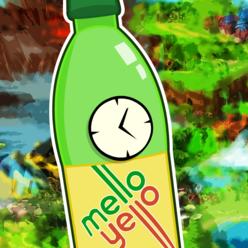 MelloYelloClock