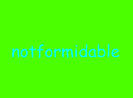 NotForMiDaBLe